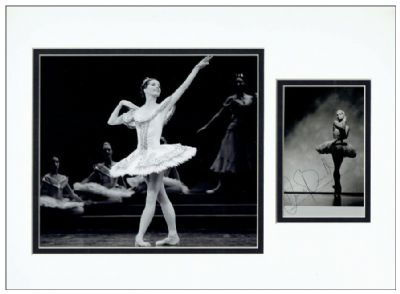 Darcey Bussell Autograph Photo Display